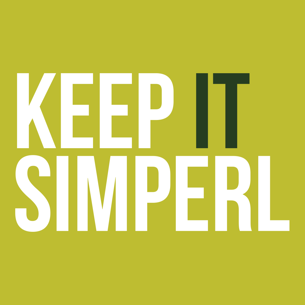 Keep It Simperl